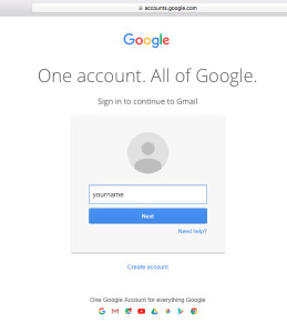 sign in to gmail email account