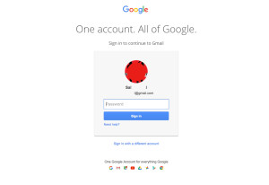 gmail com log in to my account