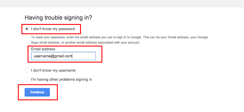 how to change recovery email in gmail without login