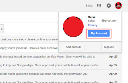 how to change your name gmail
