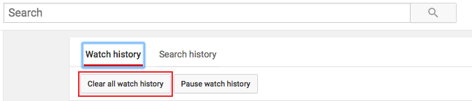 youtube watch history