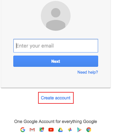 new gmail account sign up