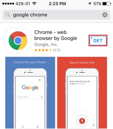 open google