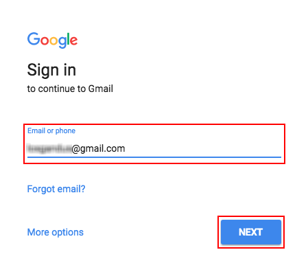 Google mail sign in how to gmail logins gmaillogins if the email is not recognized try reentering it correctly stopboris Choice Image
